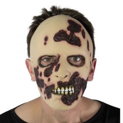 Masque adulte zombie sanglant (x1) REF/14508