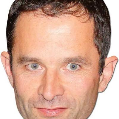 Masque Benoît Hamon (x1) REF/94265