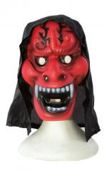 Masque adulte Halloween: Diable (x1) REF/25490