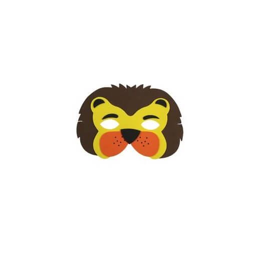 Masque enfant loup lion