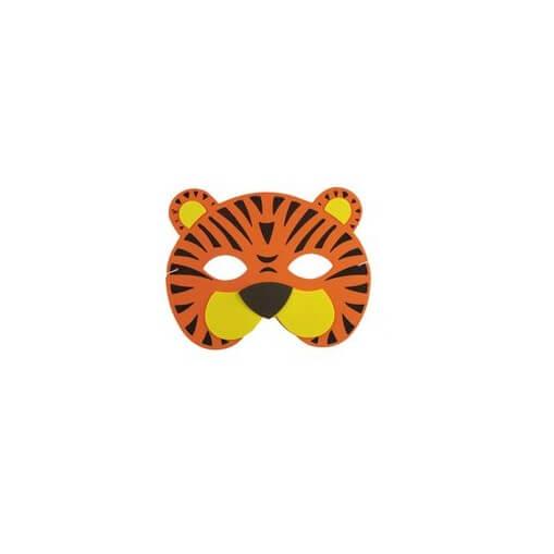Masque enfant loup tigre