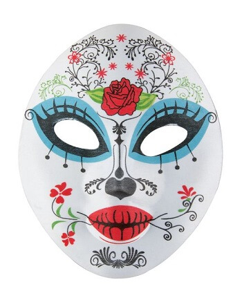 Masque femme day of the dead