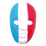 Masque tricolore France (x1) REF/74028