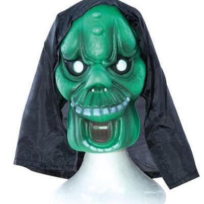Masque adulte Halloween: Vert (x1) REF/25490