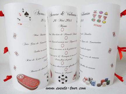 Menu photophore casino 1