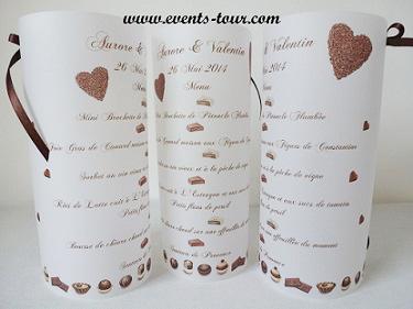 Menu photophore gourmandise: Chocolat (x1) REF/10342