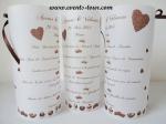 Menu photophore chocolat (x1) REF/10342