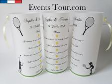 Menu photophore sport: Tennis (x1) REF/10319