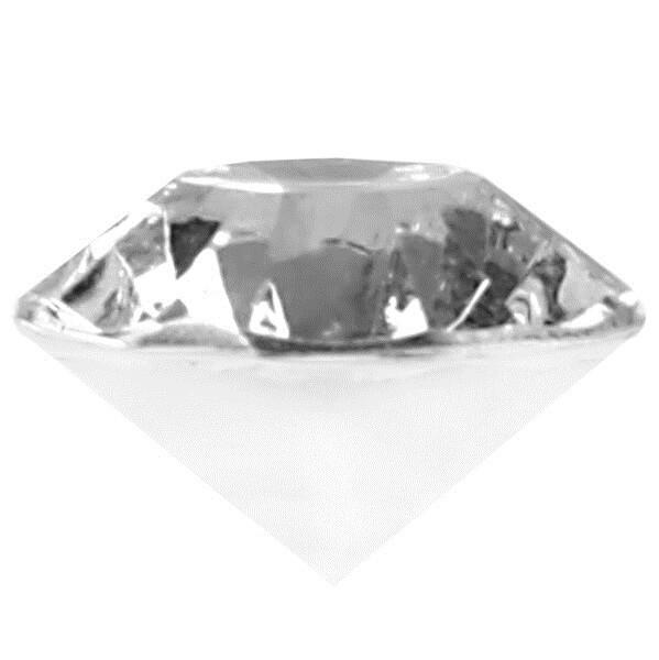 Mini diamant transparent 1