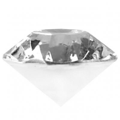 Mini diamant décoratif transparent (x20) REF/70224