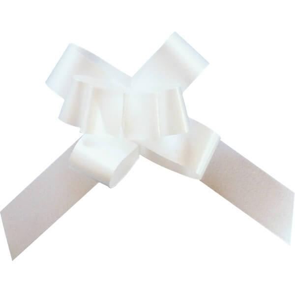 Mini noeud automatique blanc