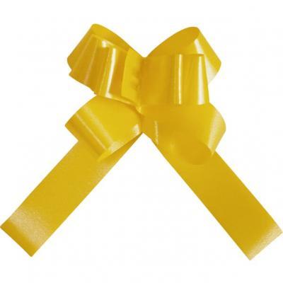 Mini noeud automatique jaune (x20) REF/2195