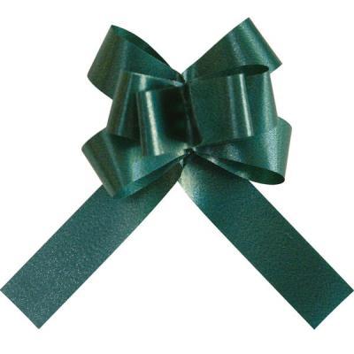 Mini noeud automatique vert sapin (x20) REF/2195