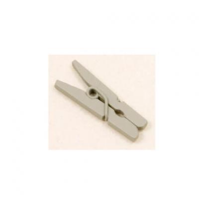 Mini pince grise, 2.5cm (x10) REF/MT885