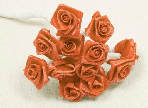 Mini rose corail
