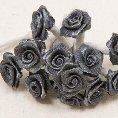 Mini rose grise (x72) REF/FL520