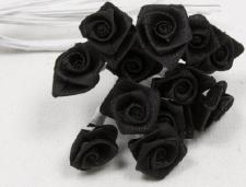 Mini rose noire (x72) REF/FL520