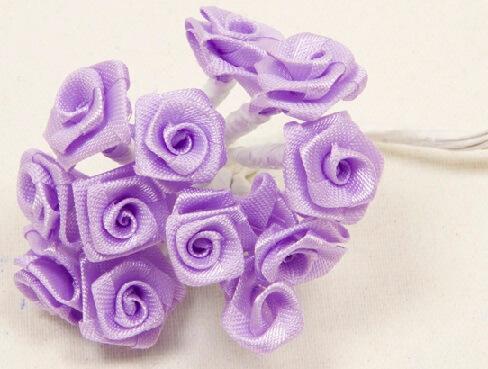 Mini rose parme