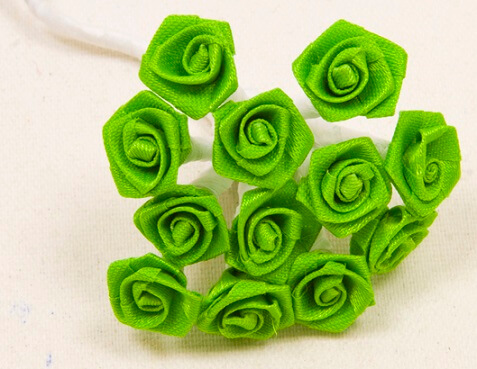 Mini rose vert menthe