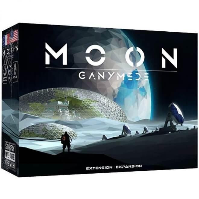 Moon extansion du jeu de societe ganymede