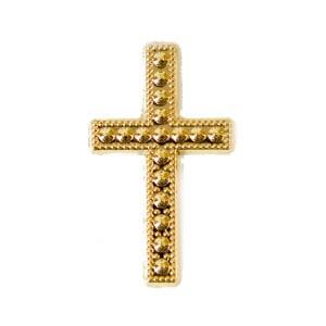 Motif croix or 1
