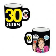 Mug anniversaire homme 30ans (x1) REF/MUGAH03