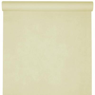 Nappe raffinée rectangulaire Airlaid ivoire 120cm x 25m (x1) REF/6806