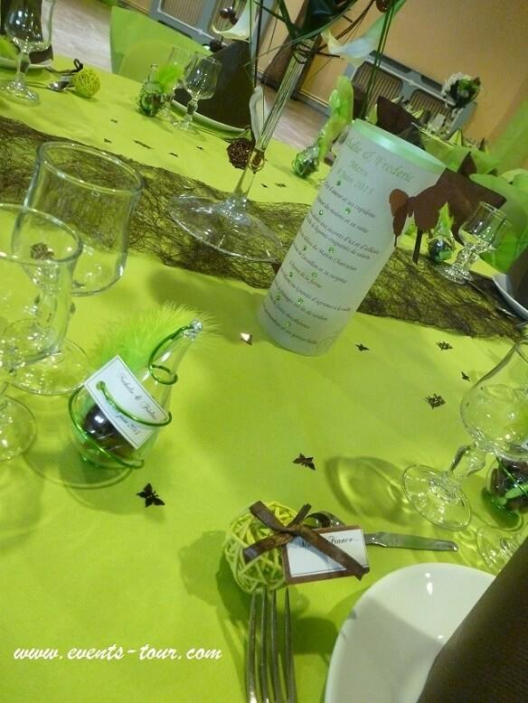 Nappe airlaid vert kiwi en 50m