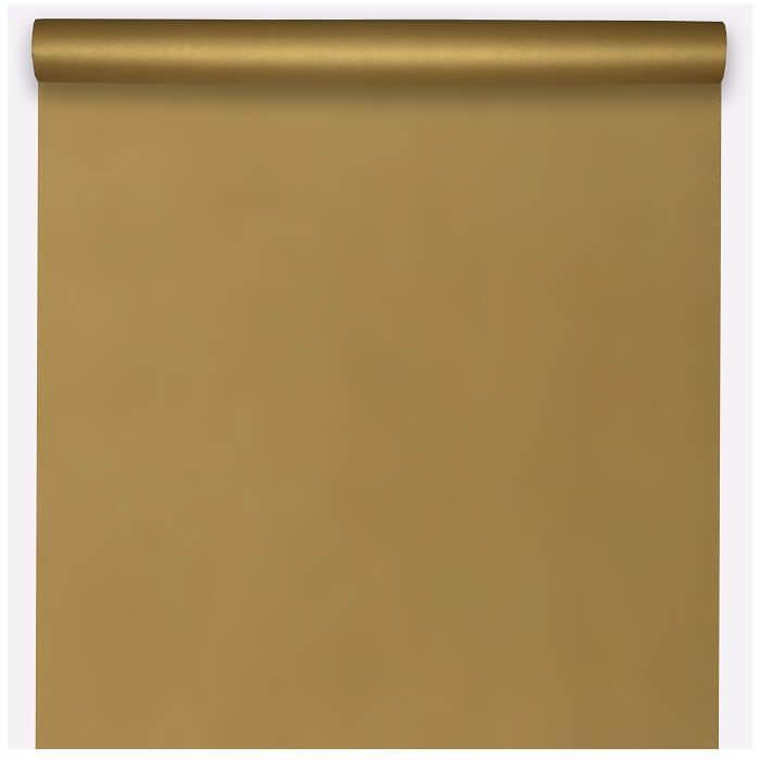 Nappe elegante rectangulaire airlaid or de 10m sur 120cm