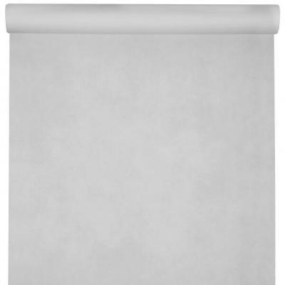 Nappe élégante rectangulaire Airlaid blanche 120cm x 10m (x1) REF/6805