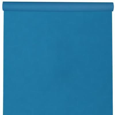 Nappe élégante rectangulaire Airlaid bleu Aqua 120cm x 10m (x1) REF/6805