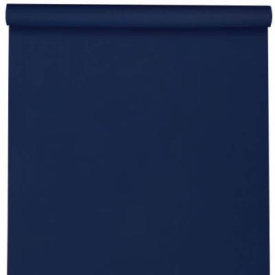 Nappe élégante rectangulaire Airlaid bleu royal 120cm x 10m (x1) REF/6805