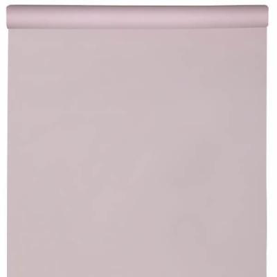 Nappe élégante rectangulaire Airlaid rose pâle/clair 120cm x 10m (x1) REF/6805