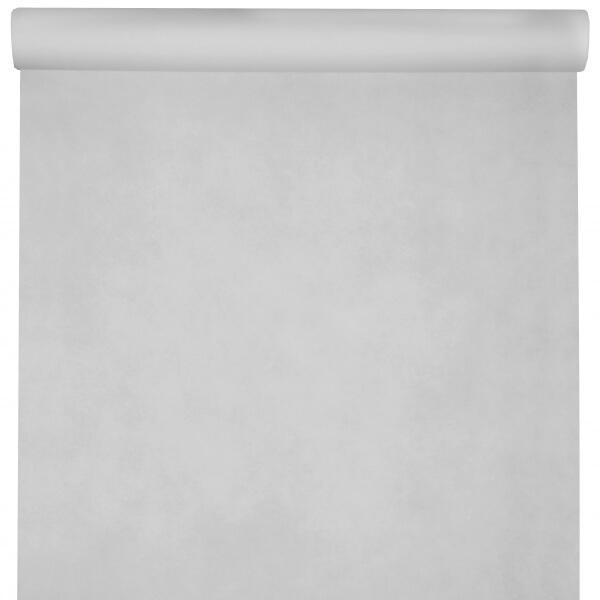 Nappe rectangulaire tissu airlaid 25m blanche