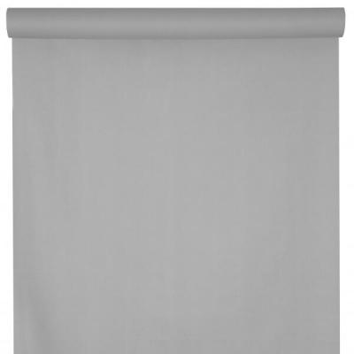 Nappe raffinée rectangulaire Airlaid gris perle 120cm x 25m (x1) REF/6806