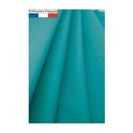 Nappe ronde airlaid bleu turquoise 240cm