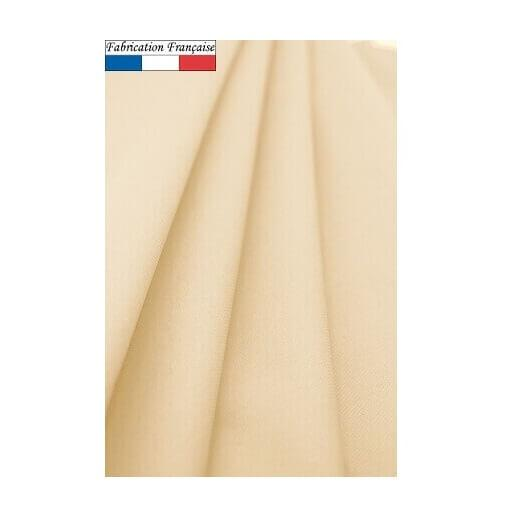 Nappe ronde airlaid champagne ivoire 240cm