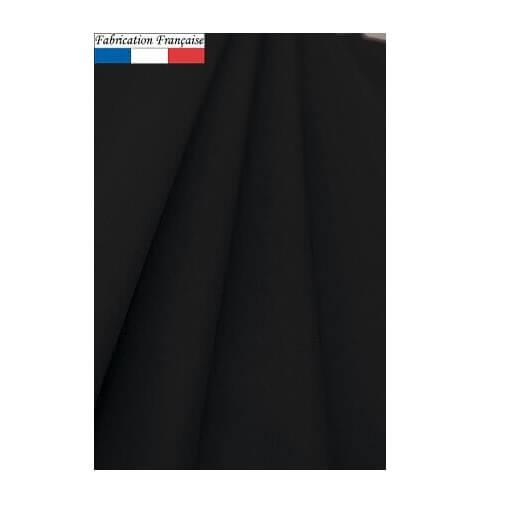 Nappe ronde airlaid noire 240cm