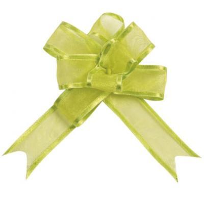 Noeud automatique organdi vert (x5) REF/2826