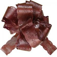 Noeud automatique dentelle chocolat (x5) REF/2294