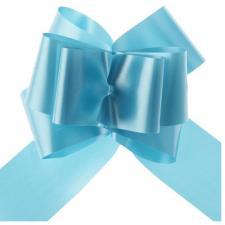 Noeud à tirer automatique bleu turquoise, 50mm (x5) REF/70174