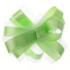 Noeud automatique tulle vert (x5) REF/70178