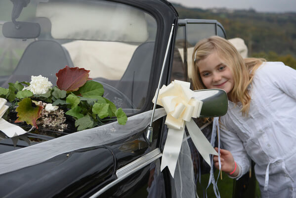 Noeud voiture mariage