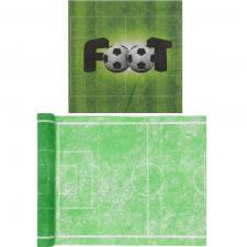 1 Pack serviette et chemin de table foot vert R/6870-3832