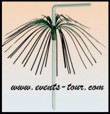 Paille palmier (x8) REF/62/0975