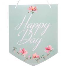 Pancarte mariage à suspendre Happy Day (x1) REF/6271