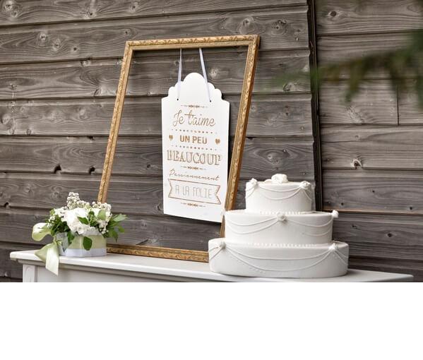 Pancarte mariage