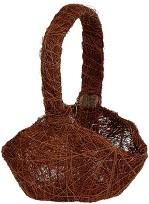 Panier sisal chocolat (x1) REF/2922