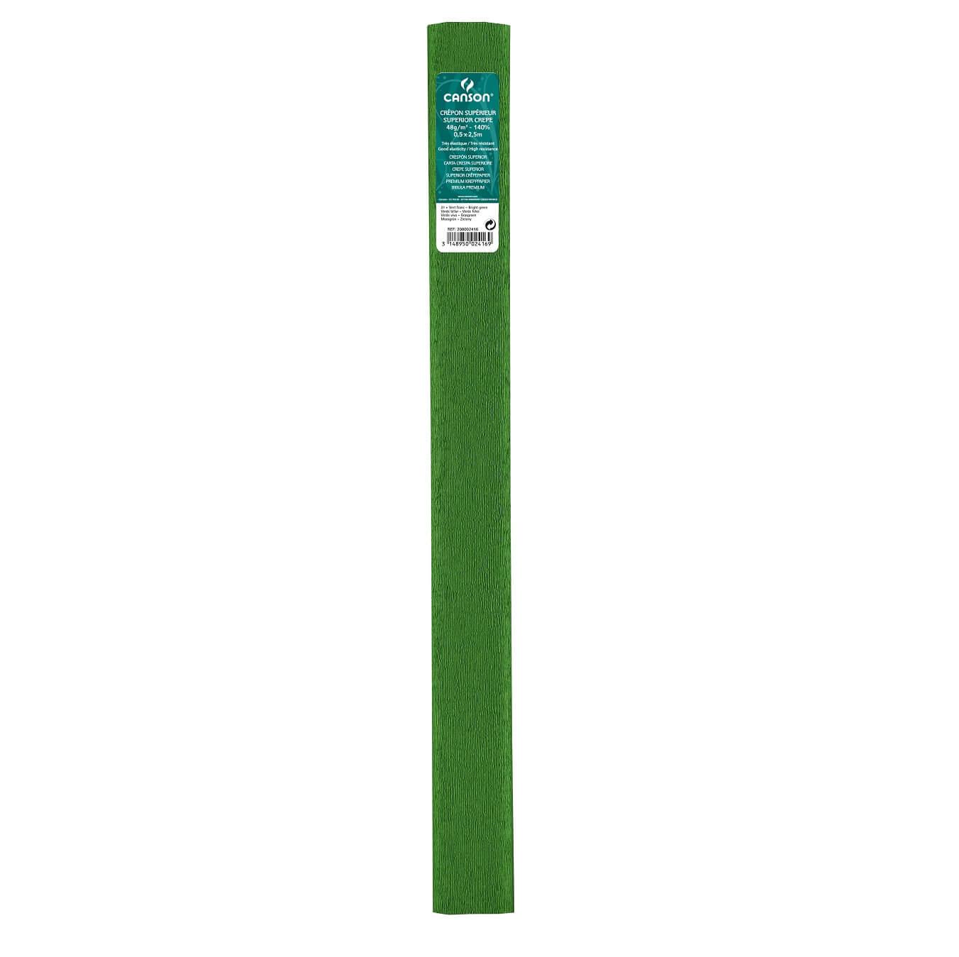 Papier crepon 48g vert