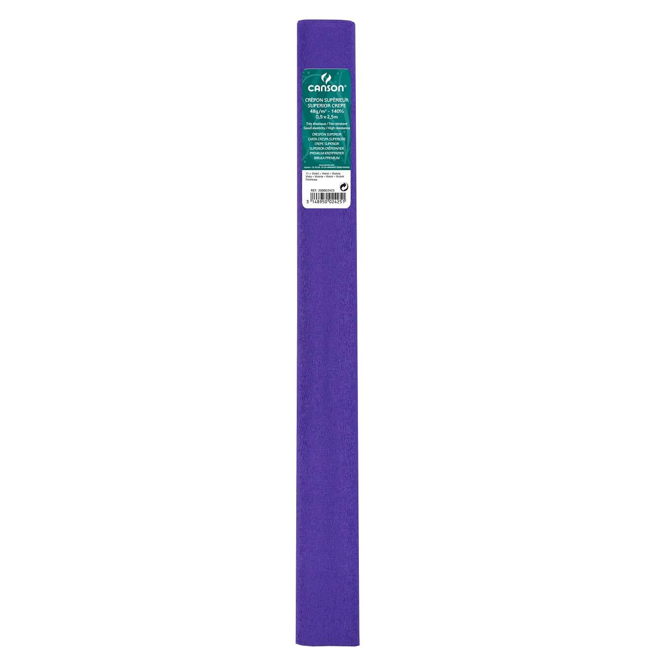 Papier crepon 48g violet